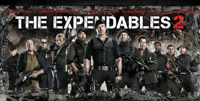 Movie The Expendables 2 2012 So Called Reviewer